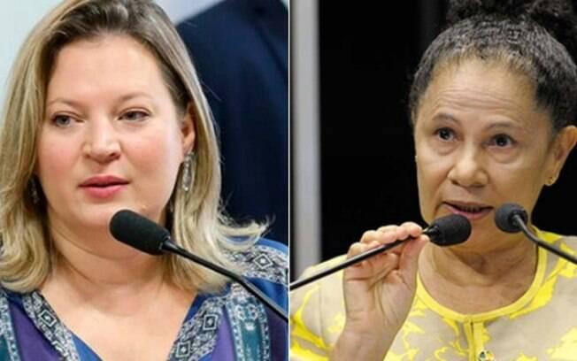 vice-governadora do Piauí, Regina Souza (PT), fala sobre insultos de Joice Hasselman