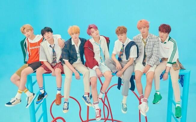 BTS, grupo sul-coreano, conseguiu uma rara indicação e pode sair premiado no domingo (10)