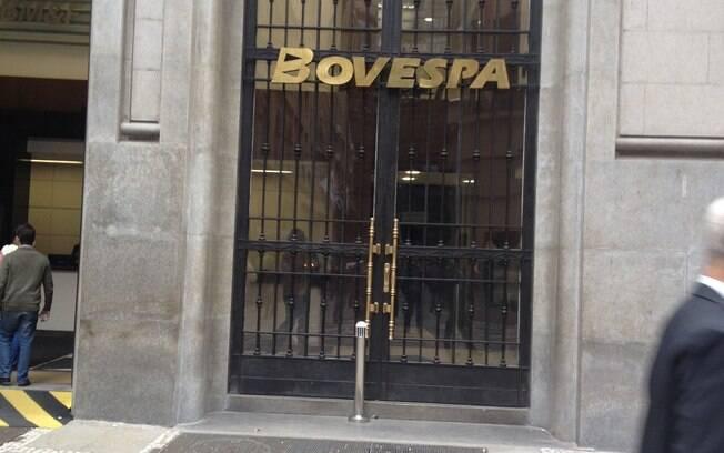 Prédio da Bovespa, no Centro de São Paulo