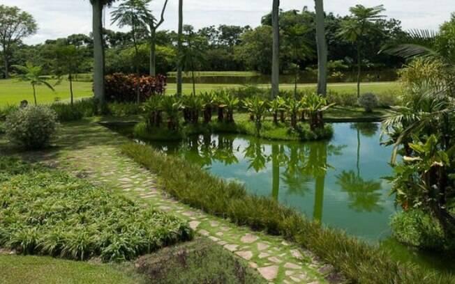 O paisagismo do Parque da Cidade foi feito por Roberto Burle Marx