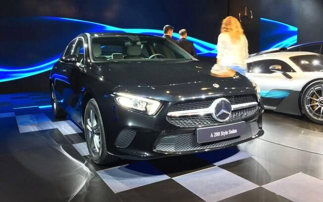 Mercedes-Benz Classe A chega em versão única este ano, para receber duas em 2019