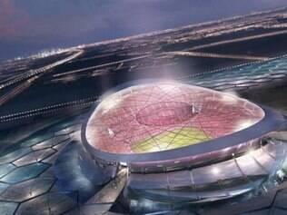 Palco da abertura e final da Copa, o Lusail Iconic Stadium poderá receber mais de 80 mil espectadores