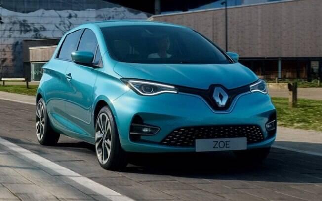 Renault Zoe tem visual renovado e se torna mais eficiente e moderno na nova geração que deverá chegar ao Brasil