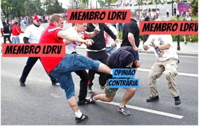 Entenda por que o LDRV, maior grupo da internet, é o câncer na sociedade