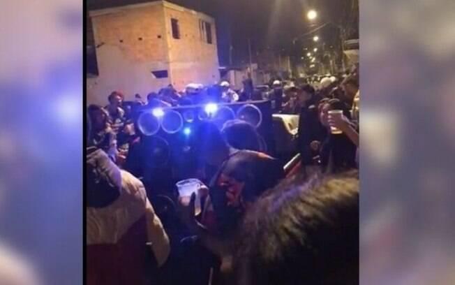 GM dispersa 'pancadão' no Jardim Paranapanema, em Campinas