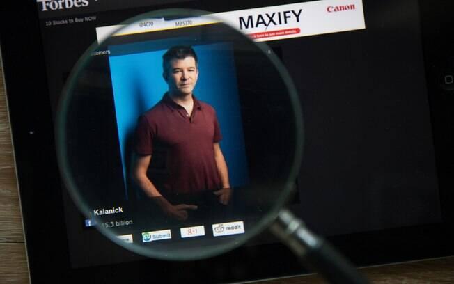 Travis Kalanick, CEO do Uber, informou que está se afastando da empresa