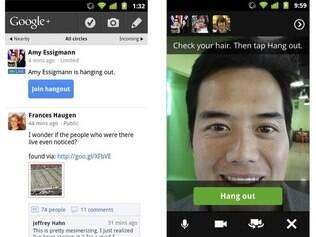Google+ abre acesso a todos os internautas e ganha Hangouts nos celulares com Android 2.3
