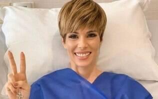 Ana Furtado encerra tratamento contra câncer de mama