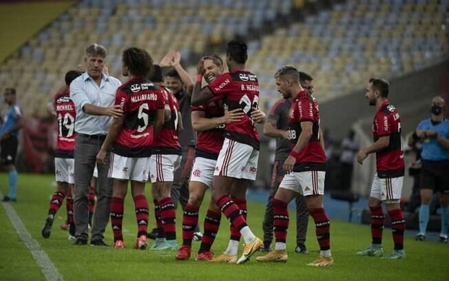 Em quinto lugar na tabela, Flamengo é o segundo time com mais chances de vencer o Campeonato Brasileiro