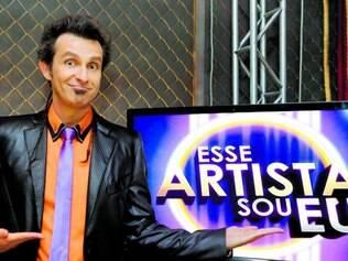 """Comando. Márcio Ballas é o responsável em apresentar """"Esse Artista Sou Eu"""", atração do SBT"""