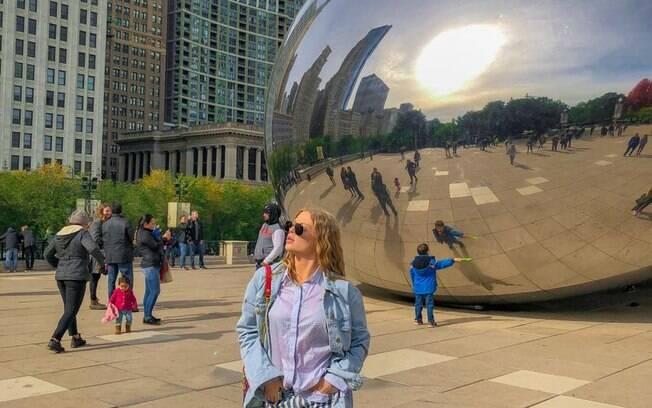 Luísa Sonza comenta viajem para Chicado