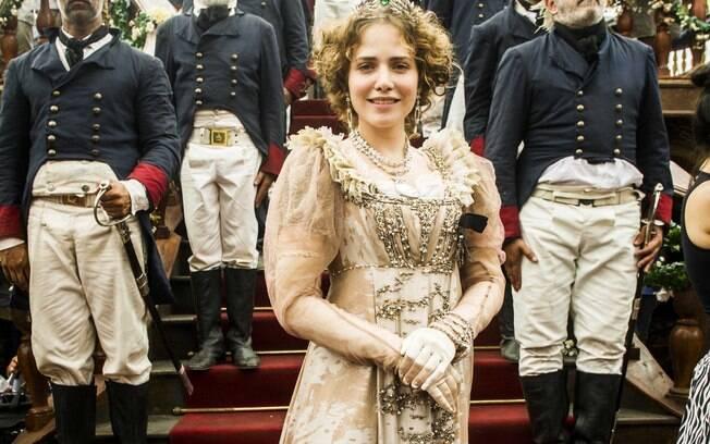 ''Novo Mundo'': princesa austríaca Leopoldina se muda para o Brasil para casar com Dom Pedro por interesses políticos