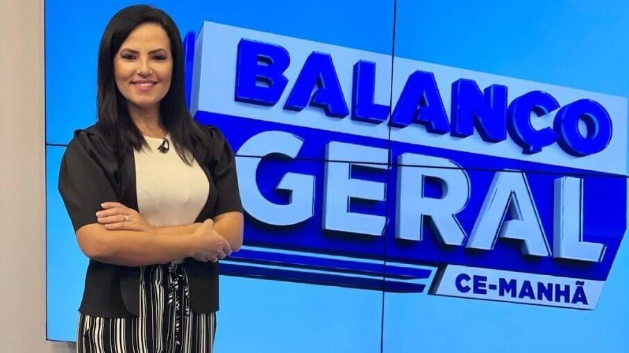Luciana Ribeiro, apresentadora do Balanço Geral