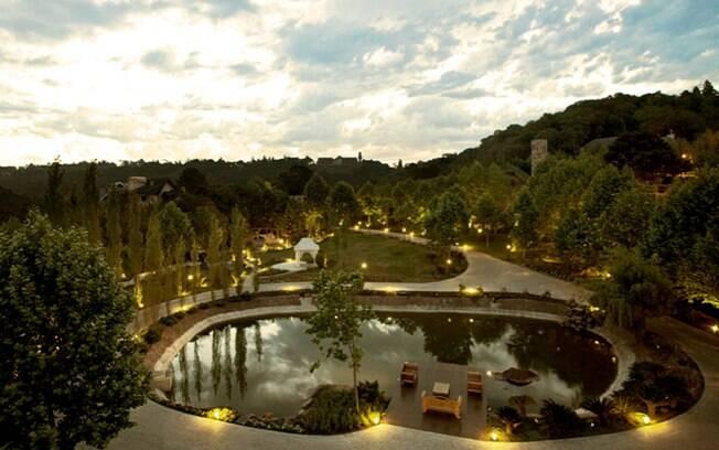 O Saint Andrews, em Gramado, é o único hotel seis estrelas do Brasil. Foto: Divulgação