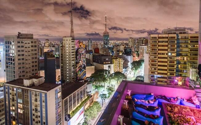 O Sesc Paulista tem um dos mirantes mais incríveis da lista, com uma vista única da icônica Avenida Paulista