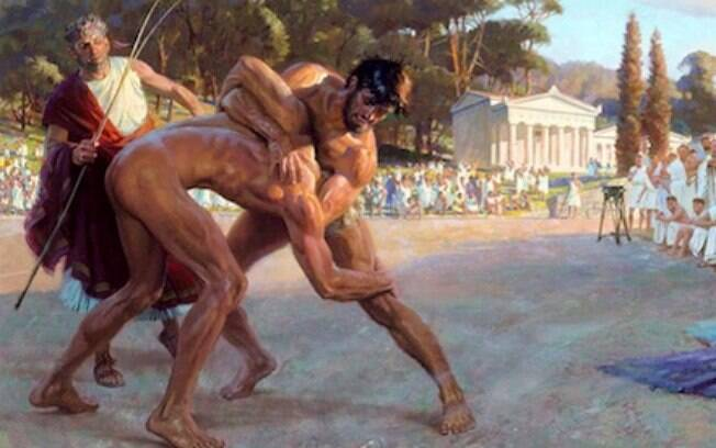 A luta é um esporte disputado desde a antiguidade