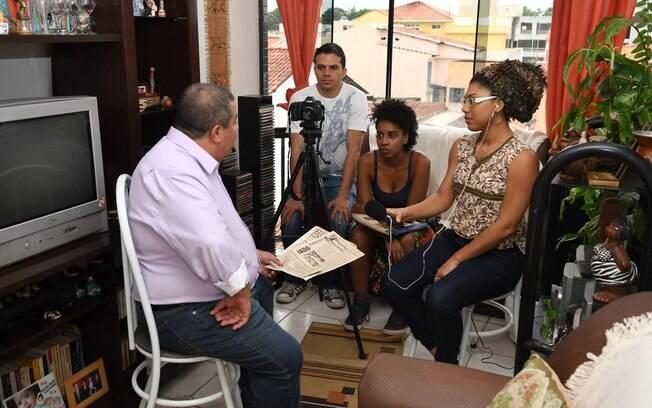 Cinema negro! A cineasta Caroline Moraes contou com a ajuda de pessoas do movimento negro para produzir o seu longa
