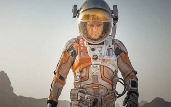 """Matt Damon dá vida a personagem desesperado para se manter vivo em """"Perdido em Marte"""""""