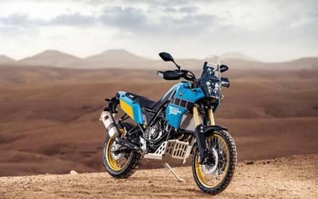 Yamaha Ténéré 700 Rally Edition chega para oferecer mais aptidão no off-road, junto das tecnologias que já estreou em seu segmento