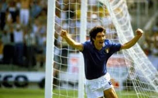 Paolo Rossi, algoz do Brasil na Copa do Mundo de 1982