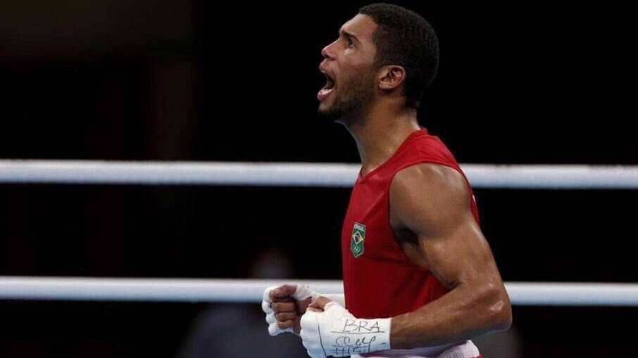 Hebert Conceição está na final do boxe Olímpico