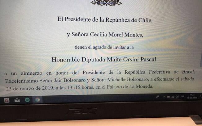 Deputada do partido de oposição se indigna com recomendação do governo chileno para que mulheres usem