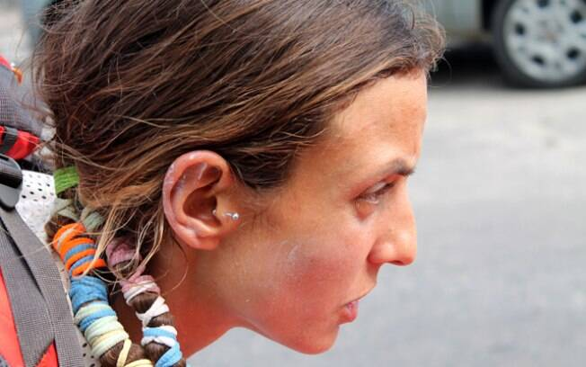 Concentração de Camila Nicolau, da BMS