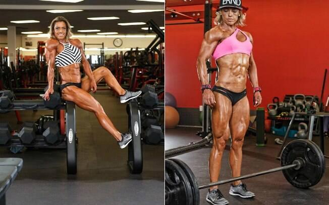 Ivie Rhein já venceu cinco competições desde que se tornou atleta fitness, há um ano e meio