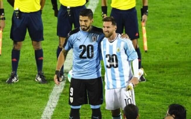 Suárez e Messi já fizeram campanha pela Copa do Mundo de 2030 em Uruguai e Argentina