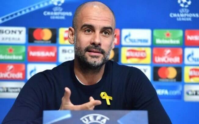 Pep Guardiola, atual técnico do Manchester City