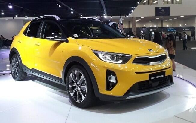 Sem o novo Kia Soul no Salão do Automóvel, a marca  coreana mostrou poucas novidades, como o SUV Stonic