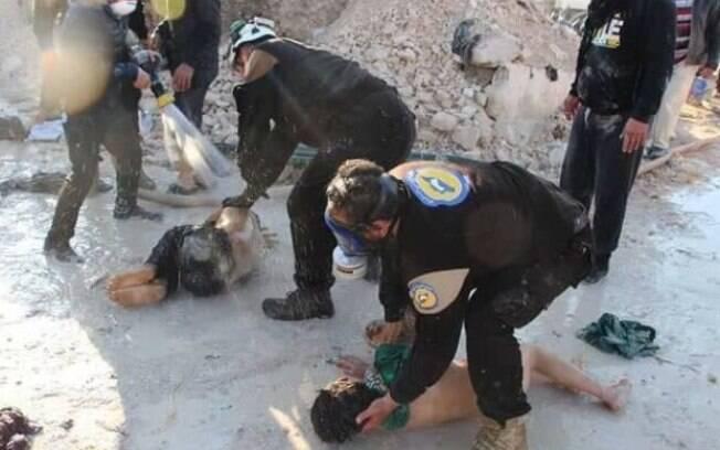 Ataque com armas tóxicas foi denunciado por rebeldes que atuavam na cidade de Duma, na Síria; Opaq investiga o caso
