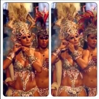Mirella Santos durante o carnaval: imagem aparece em clipe de Beyoncé