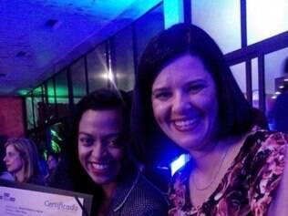 Jornalistas venceram na categoria 'Impresso'