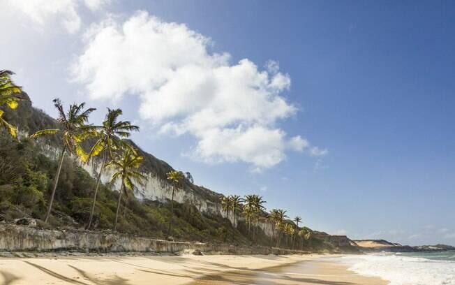foto da praia da pipa
