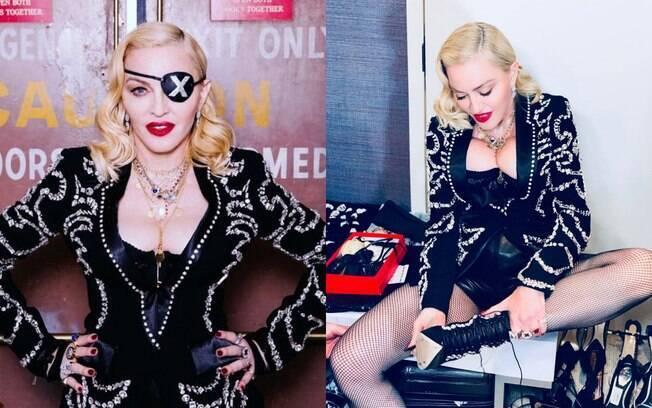 Segundo colorista, a cabeleira loira de Madonna é uma alternativa para quem quer esconder os fios brancos na raiz