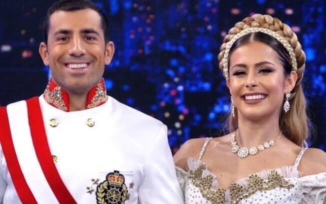 Kaysar Dandour e Mayara Araújo