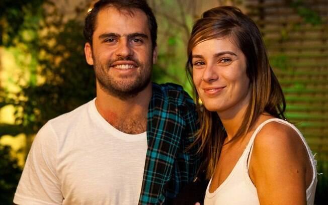 Pedro Maffei e Manuela Corano: papais de Bento