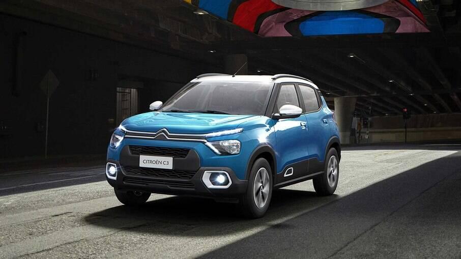Citroën C3 se transformou em um 'crossover' na versão 2022; novos modelos serão baseados nele
