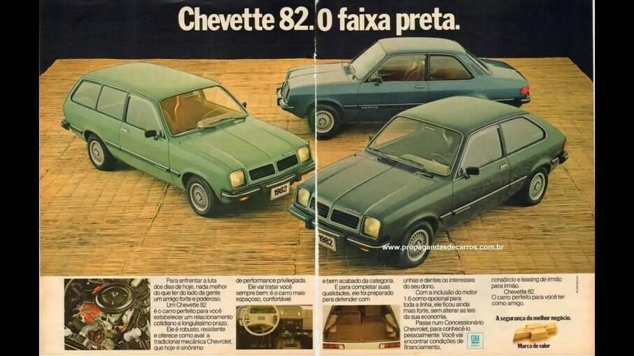 Em 1981, como linha 1981, a família Chevette ganhava mais dois membros: o Chevette Hatch e a Marajó.