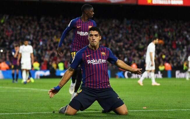 Barcelona goleou o Real Madrid com três gols do uruguaio Luis Suárez