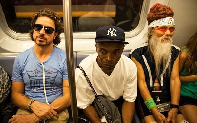 Bustani na viagem diária de metrô do Brooklyn, onde mora, para o Soho, onde fica o escritório da Mandalah
