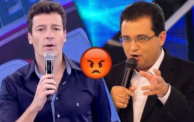 Climão nos bastidores da Record entre os apresentadores Rodrigo Faro e Geraldo Luís