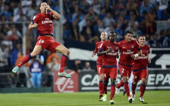 No embate contra o então líder na oitava  rodada, empate por 2 a 2 com o Olympique de  Marselha. Fim da série de quatro vitórias  seguidas