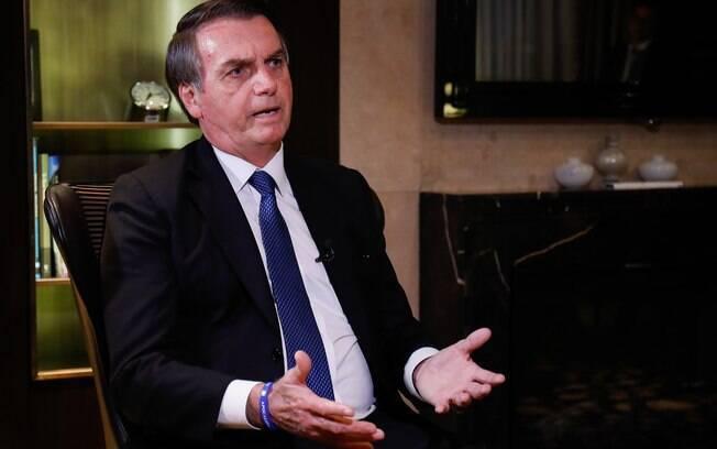 Em entrevista à Record TV em Israel, Bolsonaro voltou a criticar cálculos do IBGE sobre desemprego