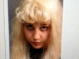 Foto feita da atriz Amanda Bynes na prisão na semana passada