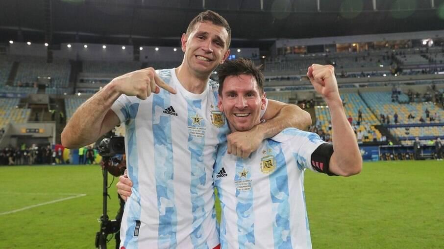 Emiliano e Messi