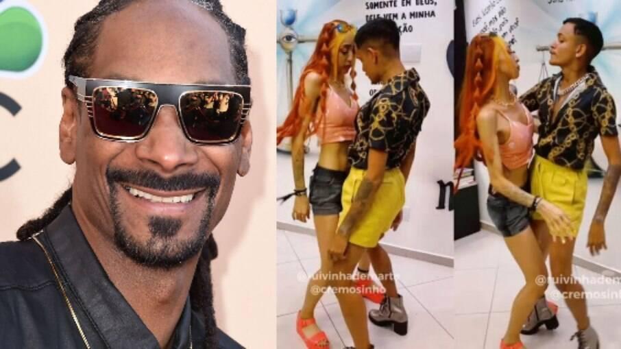 Snoop Dogg e tiktokers