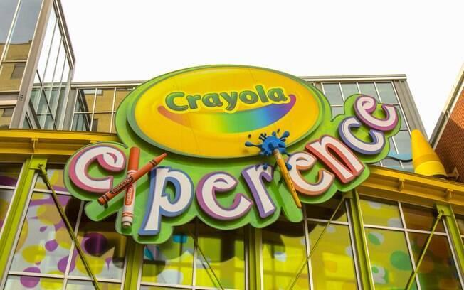 O Crayola Experience adicionará três novas experiências para os visitantes de julho
