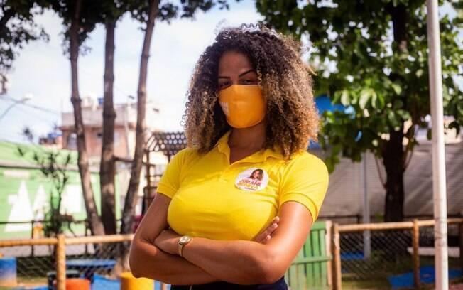 Psicóloga baiana Ariane Senna (PSB), mulher negra trans, decidiu expor as violências que vem sofrendo e resistir às investidas para descredibilizar sua candidatura a ve